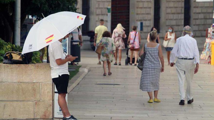 Fin de semana sin lluvia y algo nuboso en Málaga