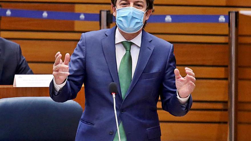 Mañueco responderá en las Cortes sobre las medidas de sus dos años de gobierno