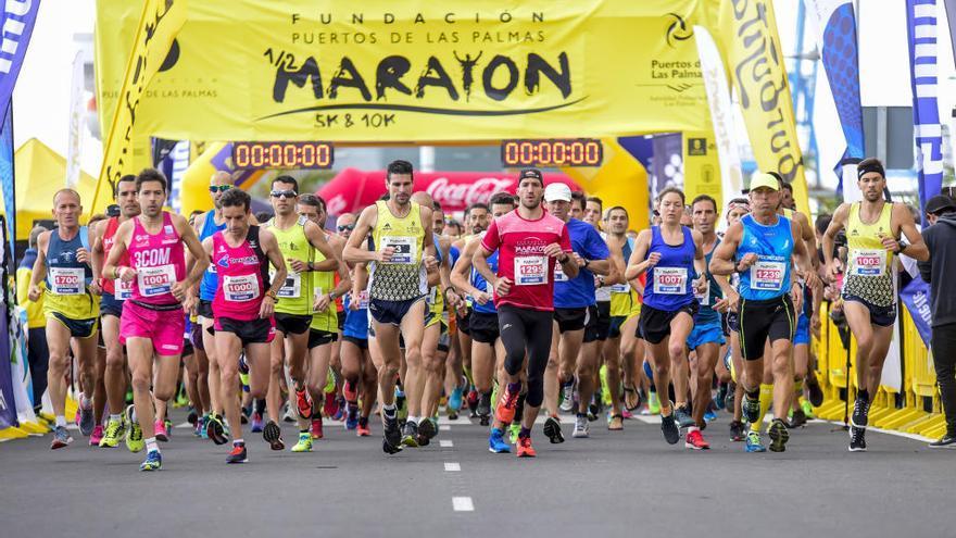 1.500 corredores en el Puerto