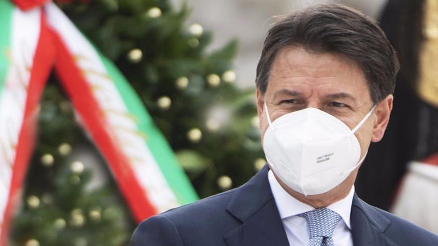 Italia estudia el confinamiento total en los festivos navideños
