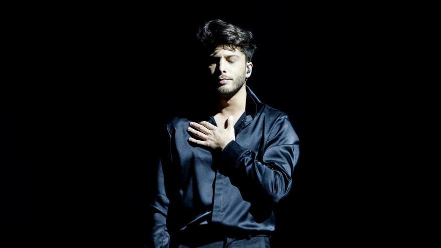 Eurovisión 2021: Blas Cantó se luce a la luz de la superluna