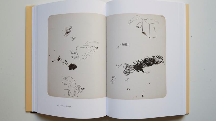 Un centenar de dibujos inéditos de Kafka salen a la luz