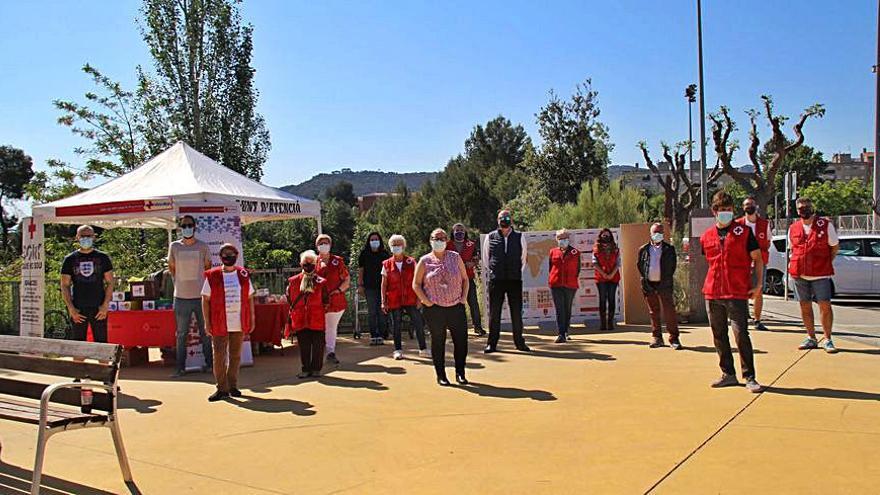 Martorell commemora el Dia Mundial de la Creu Roja i de la Mitja Lluna