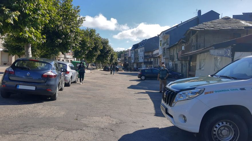Cinco investigados en una redada contra la droga en pueblos de Sanabria