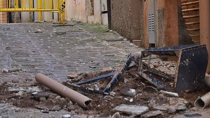 Els veïns consideren «totalment previsible» l'esfondrament de Berga