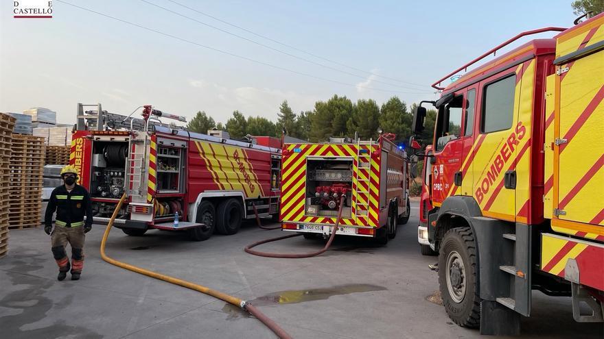Controlados los dos incendios forestales declarados hoy en Castellón