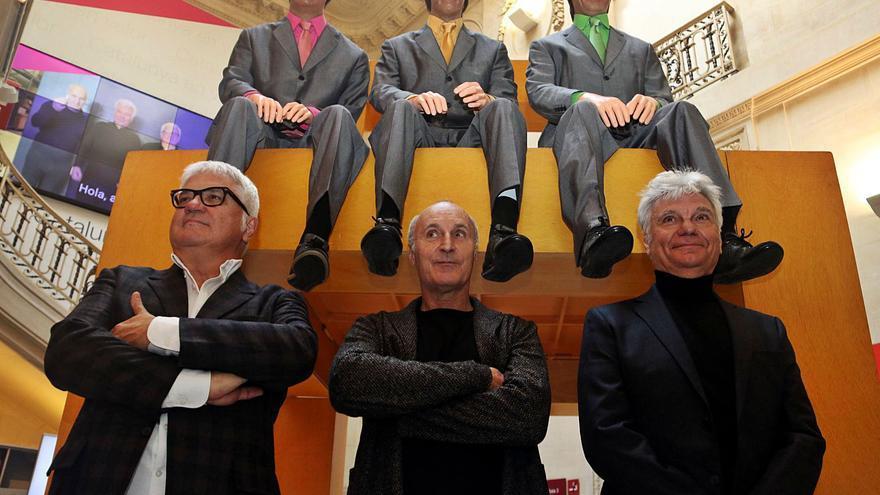 El Palau Robert agraeix al Tricicle 40 anys de rialles en una exposició