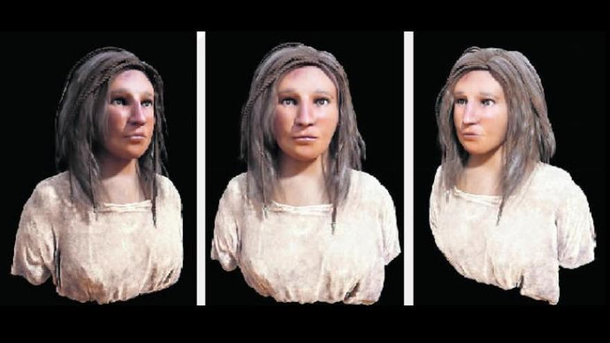 Viaje a 977, mujer, indígena, siglo V