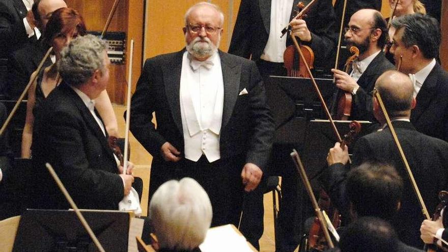 Fallece Krzysztof Penderecki, el príncipe de los compositores de vanguardia
