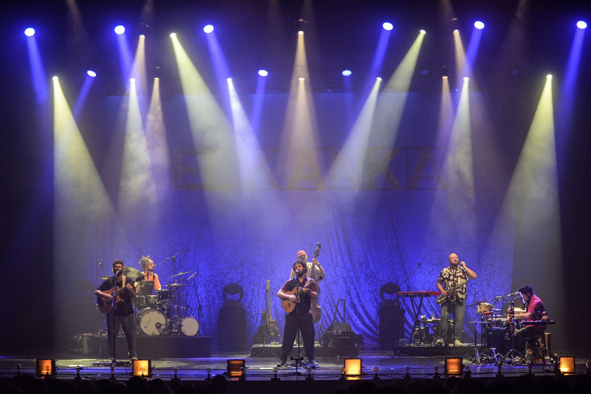 Las imágenes del concierto de El Kanka en el Teatro Cervantes