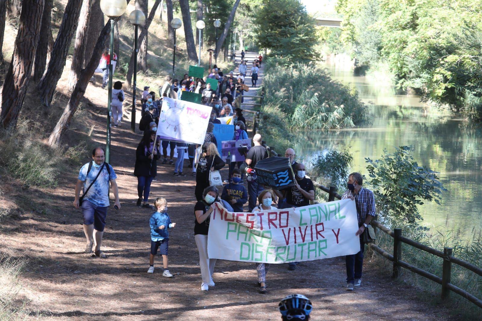 Los vecinos de Torrero piden que se aplique el plan especial del canal Imperial
