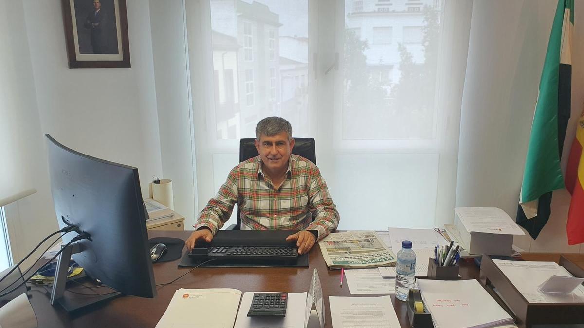 El alcalde de Miajadas, Antonio Díaz Alías.