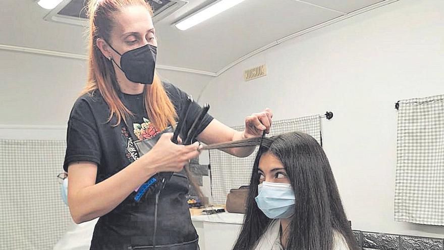 Iniciativas en el medio rural: una peluquería sobre ruedas