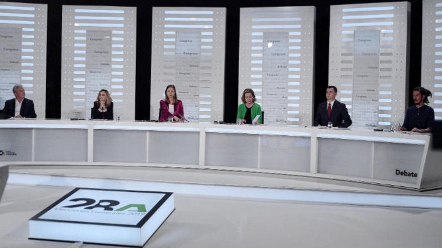 Canarias celebra el debate con sus candidatos este martes