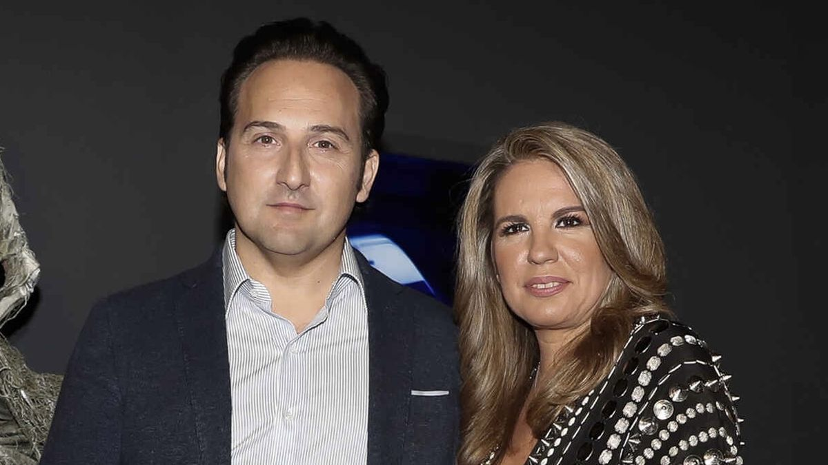 Iker Jiménez y su mujer, Carmen Porter.
