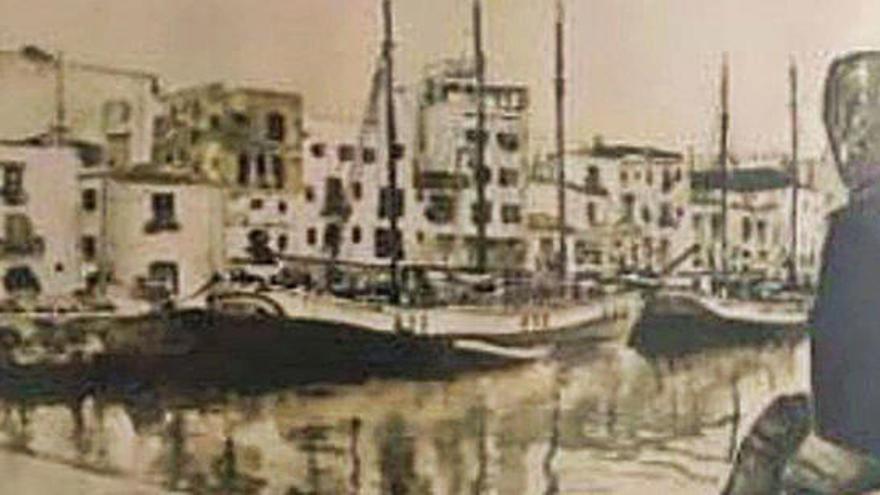 La pintora Yoa Covas muestra sus recuerdos en Sant Antoni