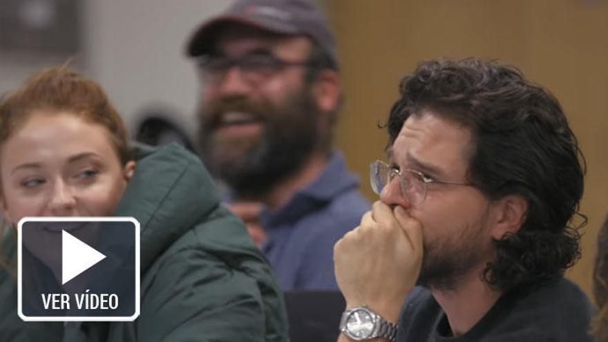 La sorprendente reacción de Kit Harington al conocer el final de 'Juego de tronos'
