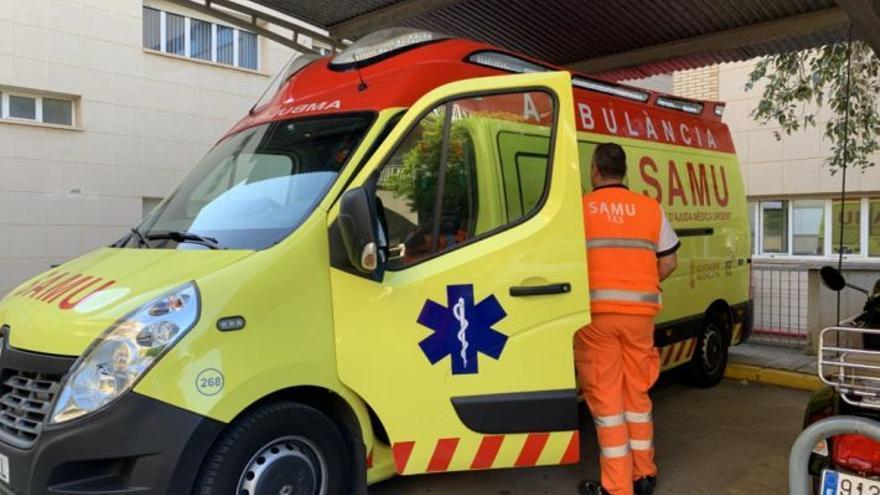 Un peatón acaba en el hospital tras ser atropellado en Castelló