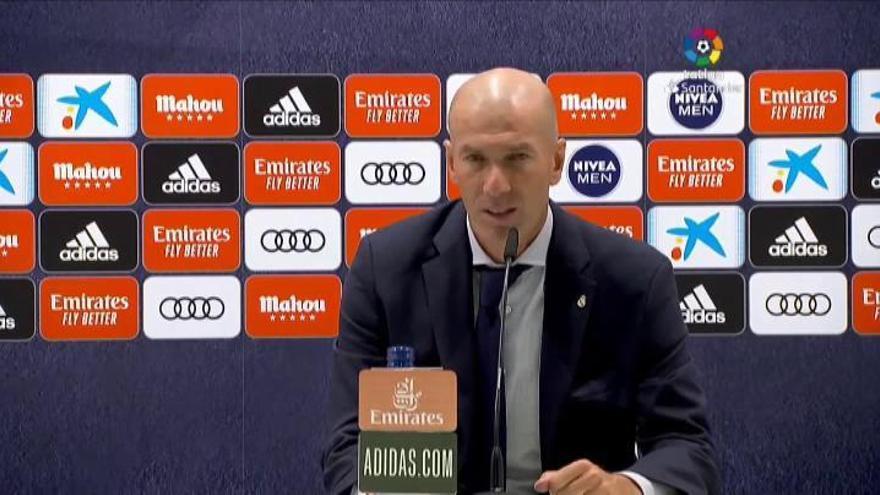 """Zidane: """"Es uno de los mejores días que he vivido como profesional"""""""