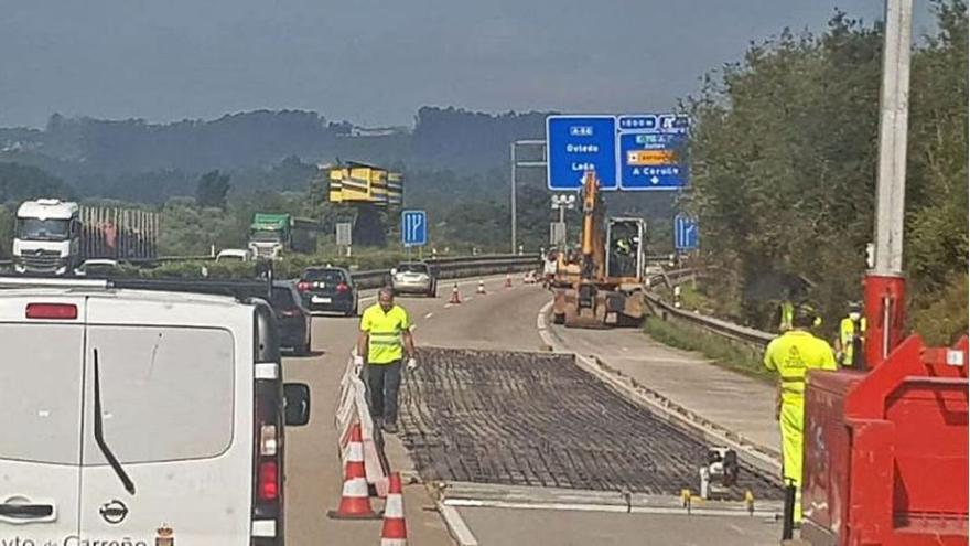 """Así se circula hoy por la """"Y"""" tras el monumental atasco de ayer por unas obras en apenas 60 metros"""