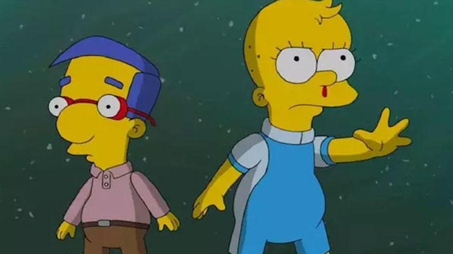 Los Simpson parodian 'Stranger Things' en su especial de Halloween