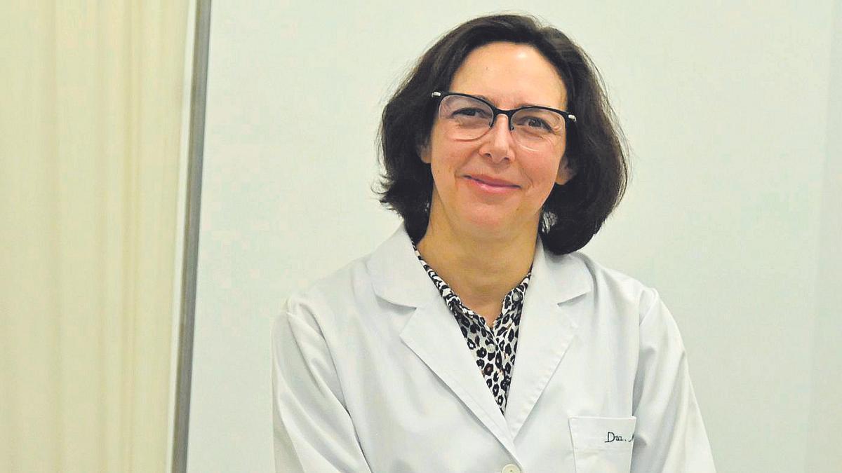 Mª Carmen Negre, recientemente nombrada directora del Instituto de Medicina Legal y Ciencias Forenses.