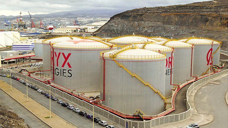 La multinacional Oryx expande su terminal de combustibles en el Puerto de Las Palmas