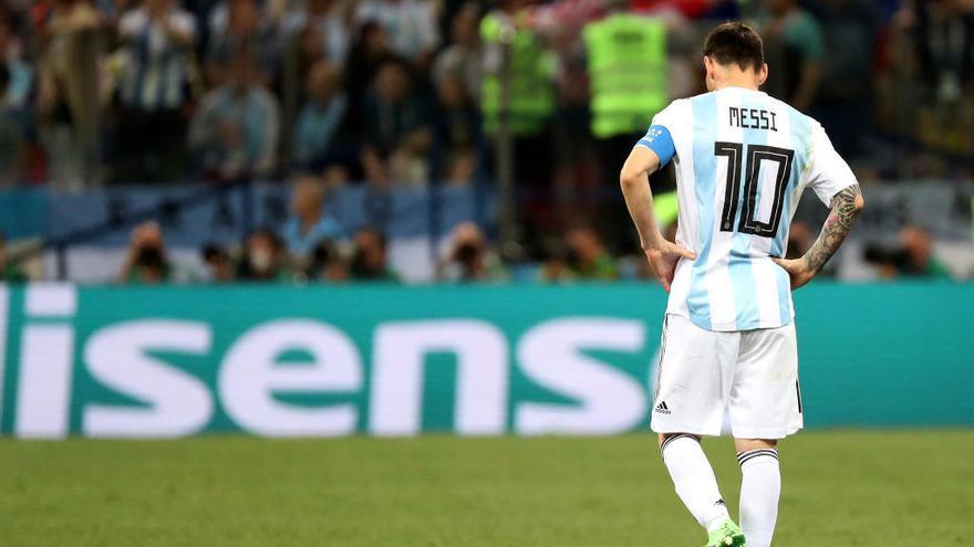 Croàcia deixa una Argentina sense futbol arran de l'abisme