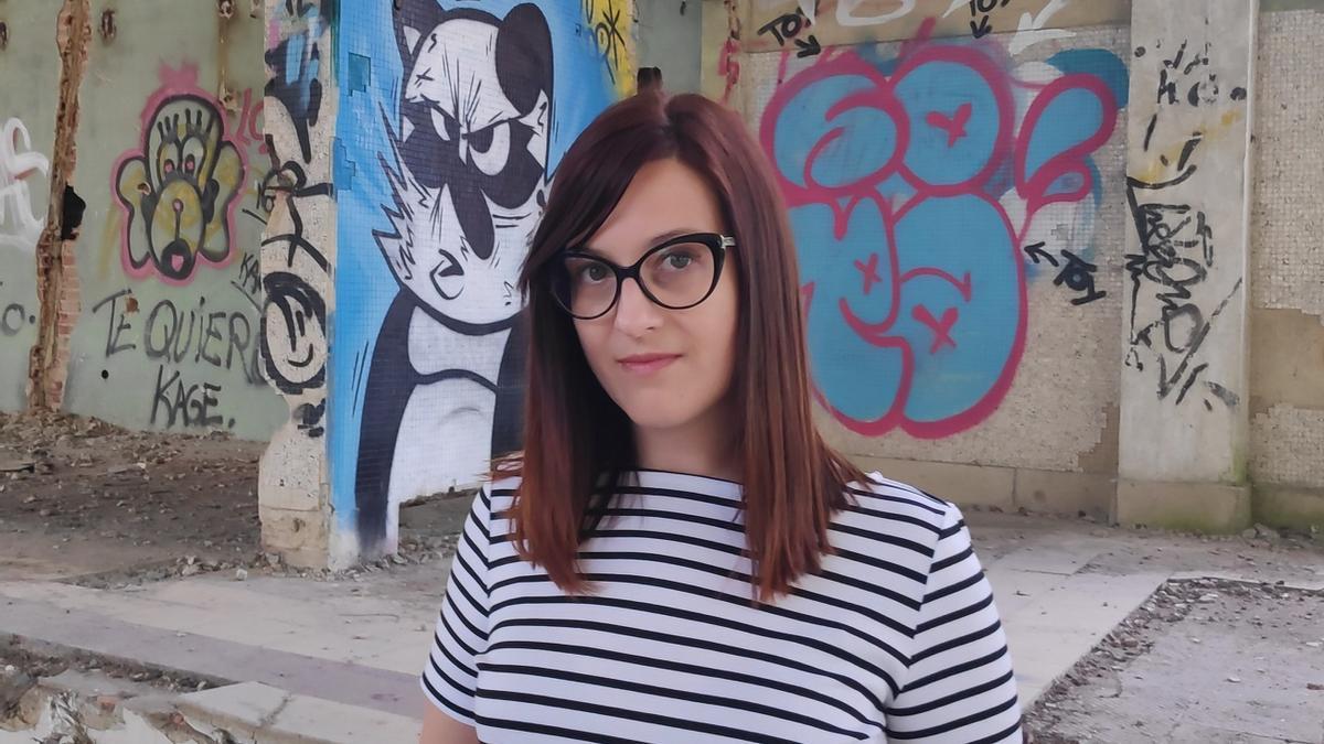 A escritora Iria Misa.