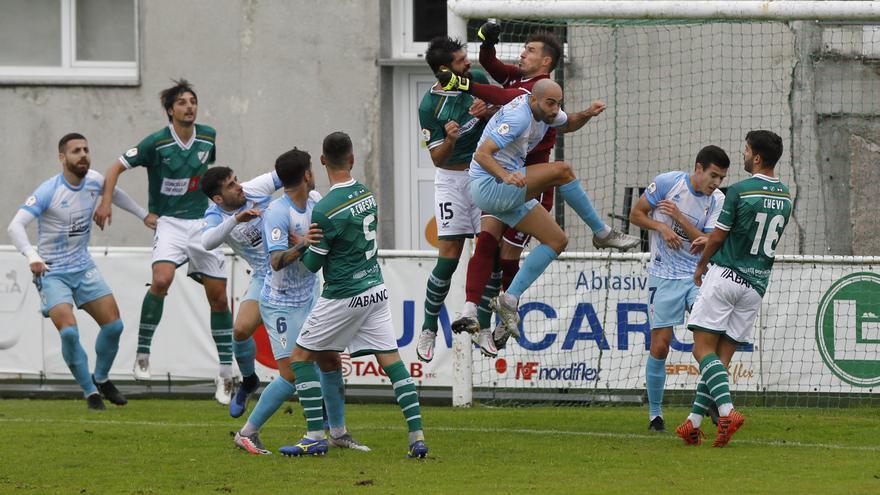 Coruxo-Compostela, un empate sin goles en O Vao