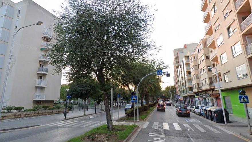 Cuatro heridas en dos atropellos en el mismo paso de peatones de Palma en 24 horas
