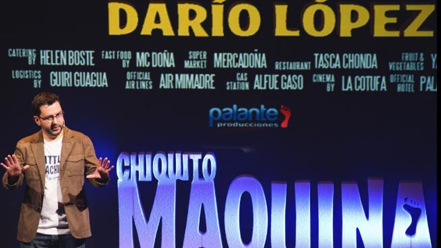 Darío López reaparece en el Guiniguada con 'Chiquito Máquina'