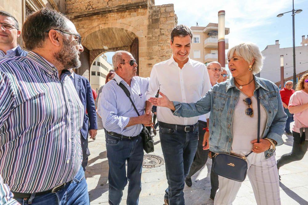 Visita de Pedro Sánchez a Orihuela