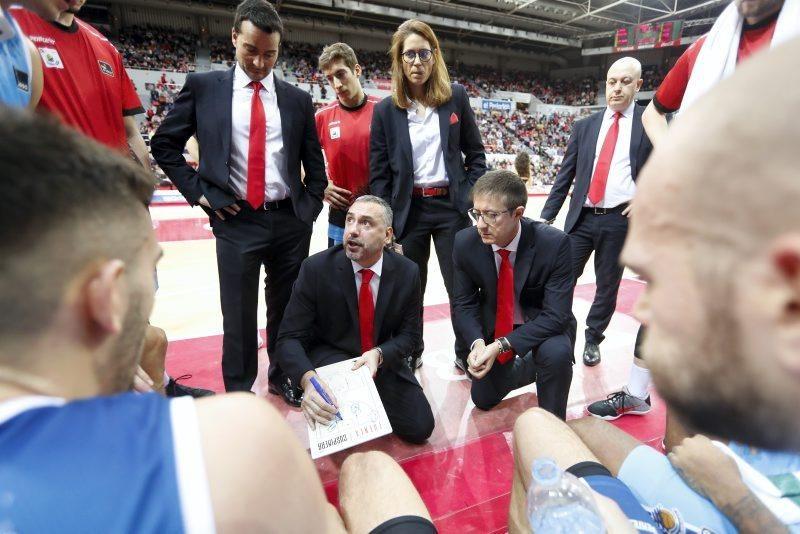 Partido Casademont Zaragoza contra Montakit Fuenlabrada