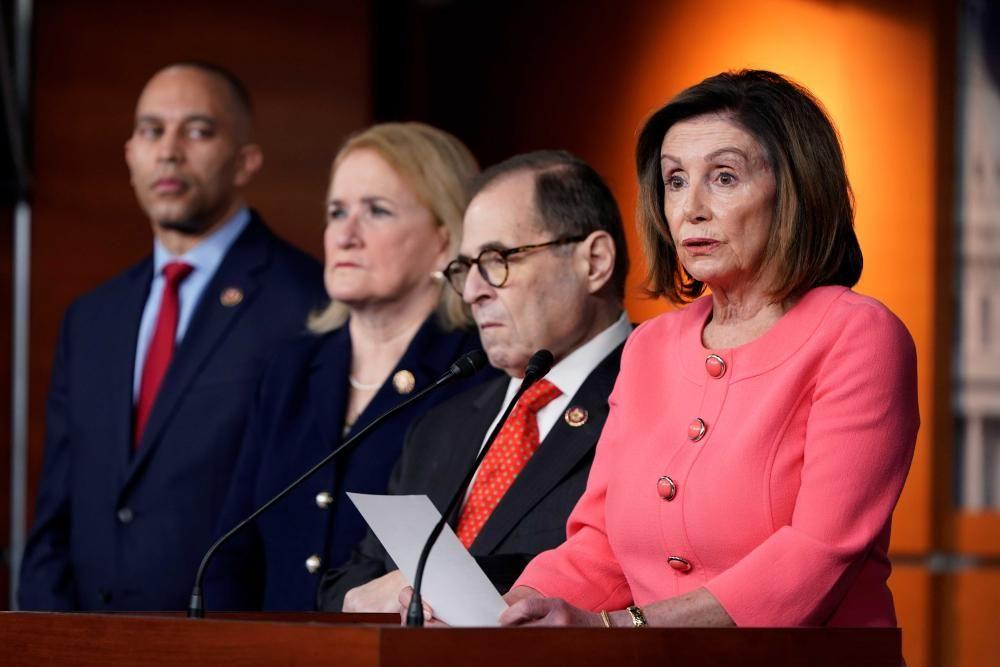 Pelosi anuncia el impeachment a Trump | Enero