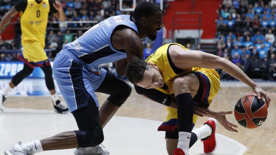 El Barcelona se merienda al Zenit en el último cuarto