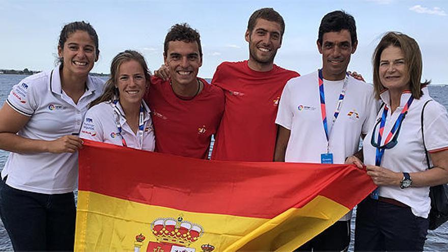 España, plata en el 470 femenino y bronce en el masculino del Mundial de Vela
