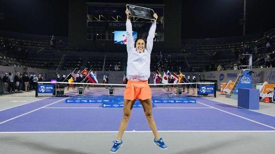 Sara Sorribes gana el primer título WTA  de su carrera profesional