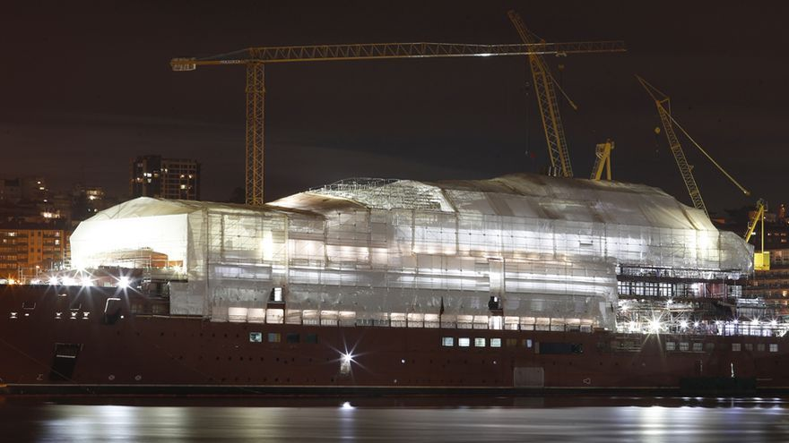 Barreras cuantifica en más de 60 millones el coste de una solución global para el astillero