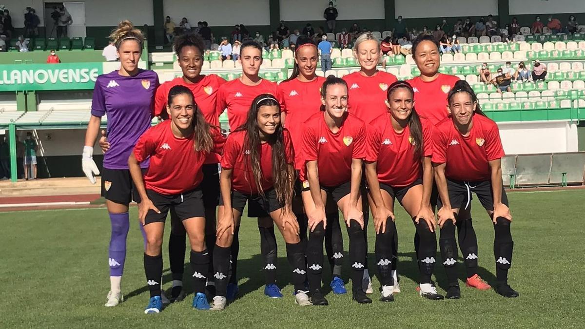 Once inicial del Santa Teresa en la final de Copa Federación, el pasado domingo.