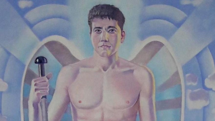 ¿Has visto al 'nuevo' San Rafael? El arcángel se sale del molde clásico con su imagen más moderna