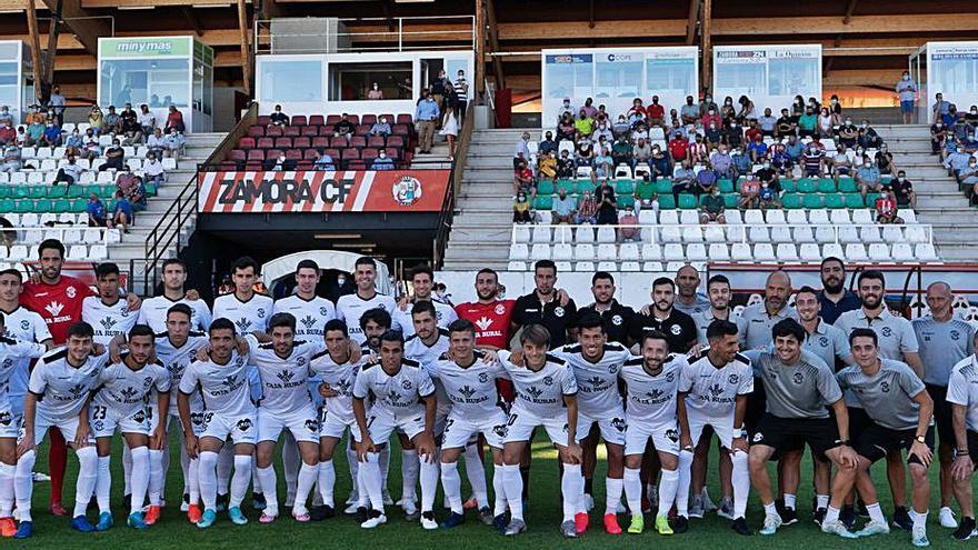 El fútbol pasa a segundo plano y el Ruta abuchea en el primer partido del Zamora