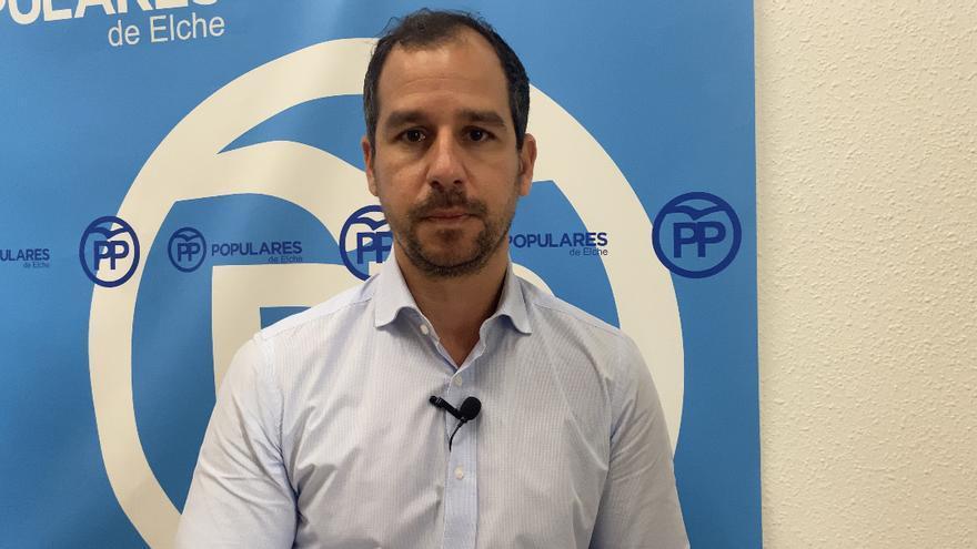 El PP denuncia los sobrecostes de las obras en Elche
