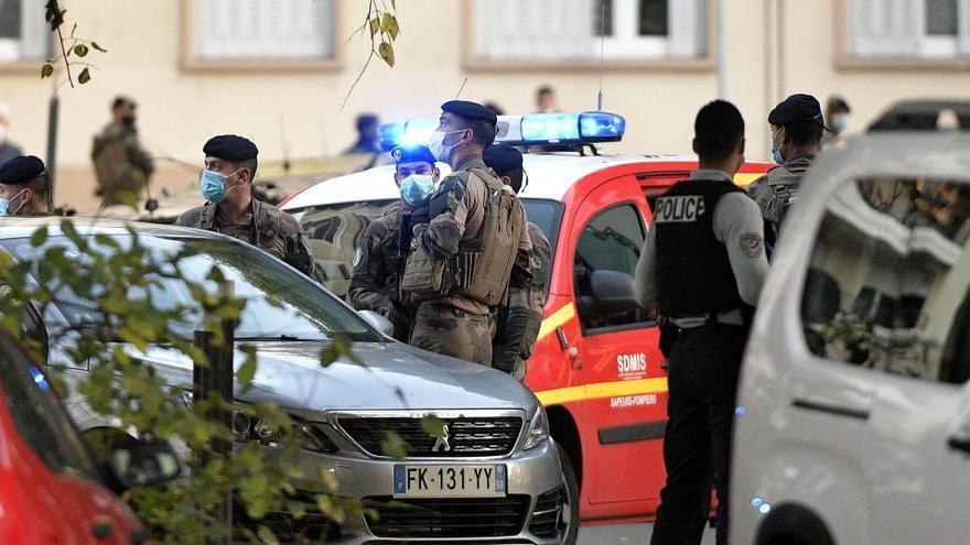 En libertad el detenido por el ataque contra un sacerdote ortodoxo en Lyon