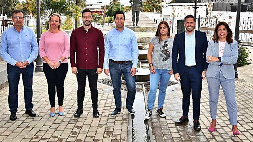 El pacto cuatripartito, pendiente de la ejecutiva insular y la asamblea del PSOE