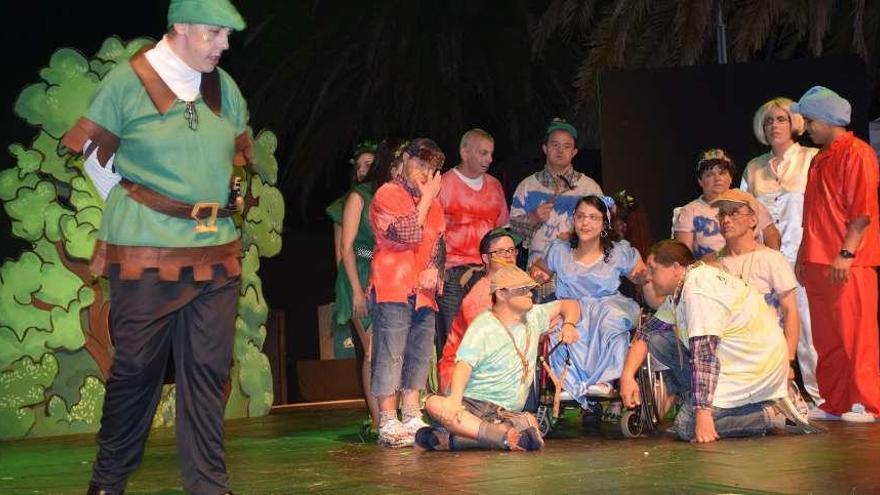 Peter Pan vuela en Cangas