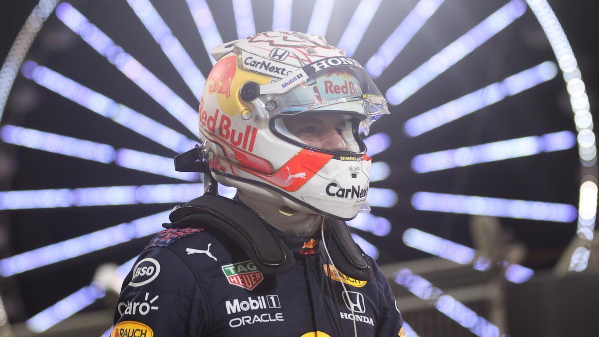 Una imagen de Max Verstappen.