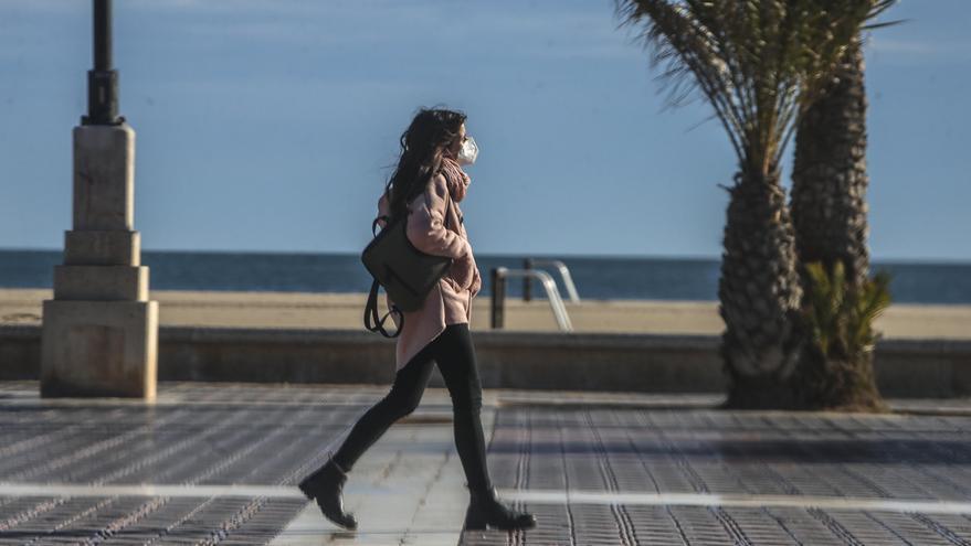 Nuevo giro del tiempo en Valencia y cambio de temperaturas