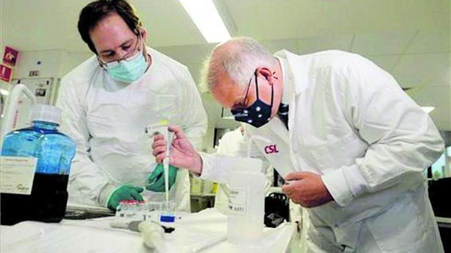 Cuatro laboratorios abandonan la carrera por la vacuna contra el virus