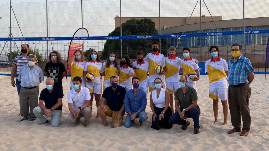 Lorca acoge el Campeonato de España de vóley playa en edad escolar